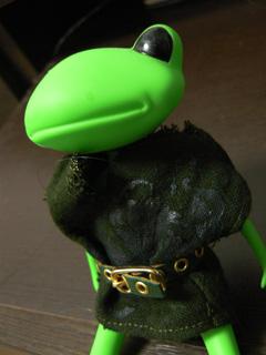 カエル勇者が着てみた