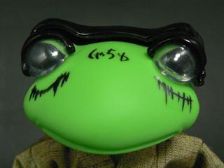 おめでとう! カエル勇者は カエル金貸しに進化した!