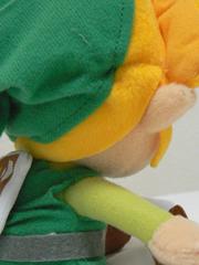 緑で黄色の少年