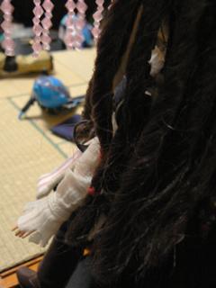 ジャラッ(←髪飾りの音)