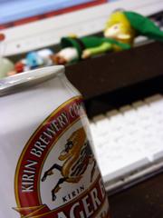 ビールとドール