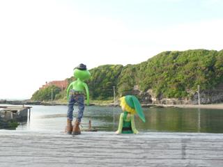 実に日本的な入り江