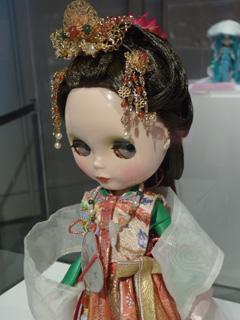 日本人形っぽく
