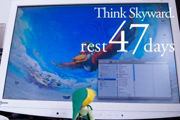 Think Skyward.(むりやりすぎ)