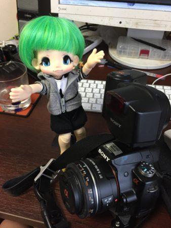カメラでけー